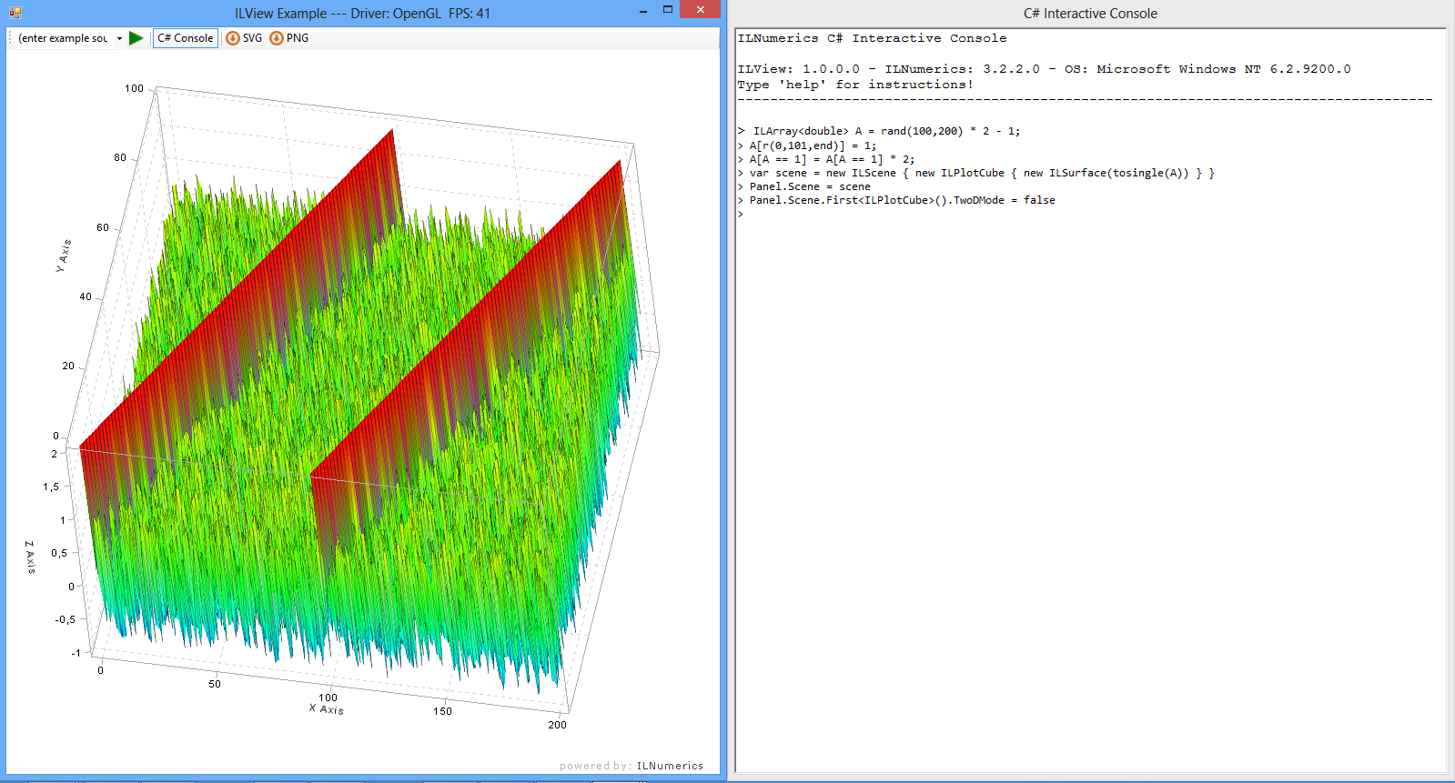 C# for 3D visualizations and Plotting in  NET - The ILNumerics Blog