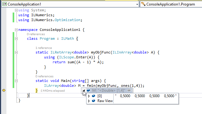 2015-01-14 16_44_19-ConsoleApplication1 (Debugging) - Microsoft Visual Studio